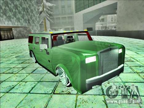 Hummer H2 Phantom for GTA San Andreas