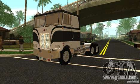 Peterbilt 362 Cabover for GTA San Andreas