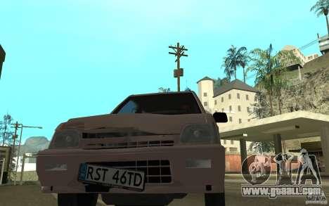 Daewoo Tico SX for GTA San Andreas upper view