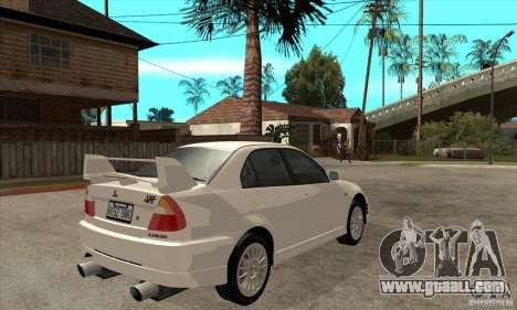 Mitsubishi Lancer Evo VI Tune for GTA San Andreas right view