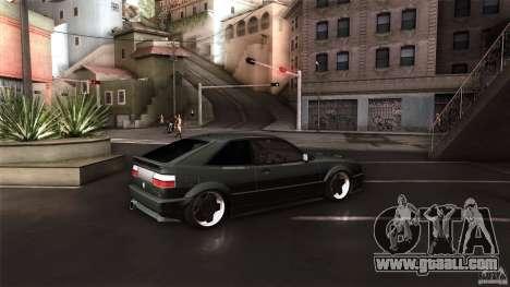 Volkswagen Corrado VAG for GTA San Andreas back left view