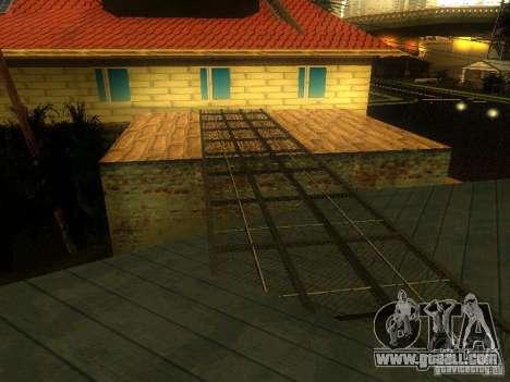 Base of Grove Street for GTA San Andreas fifth screenshot