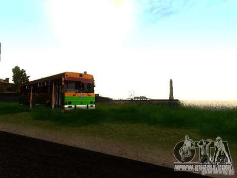 LAZ-4202 for GTA San Andreas back left view