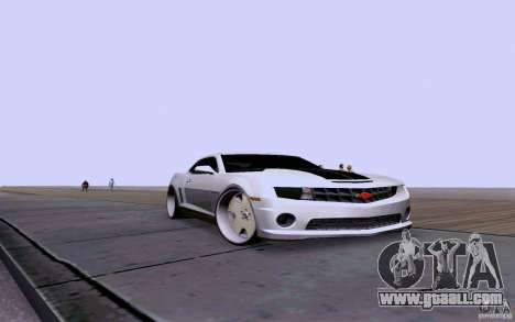 Chevrolet Camaro Super Sport 2012 for GTA San Andreas