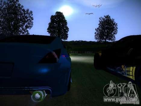 Nissan 350Z Falken Tire for GTA San Andreas side view