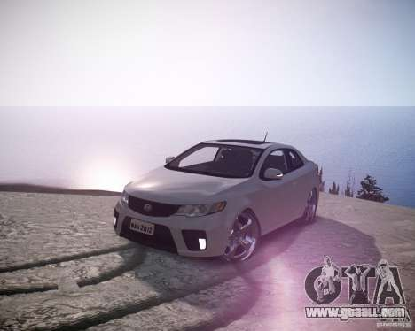 Kia Cerato Koup 2011 for GTA 4
