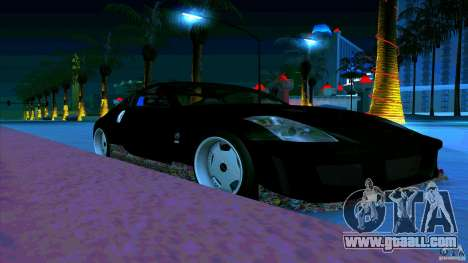 Nissan 350Z JDM for GTA San Andreas left view