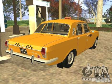 GAZ 24-01 Taxi for GTA San Andreas left view