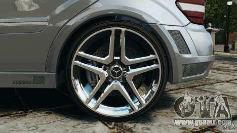 Mercedes-Benz ML63 AMG Brabus for GTA 4 bottom view