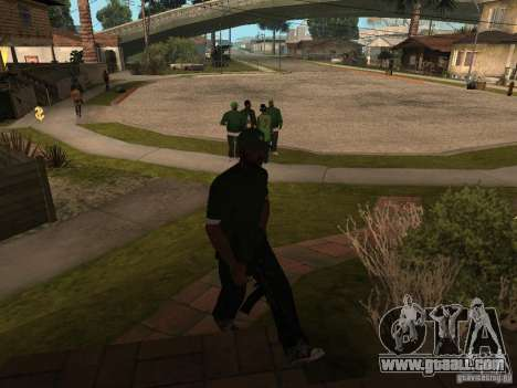 The ability to call a Suite for GTA San Andreas second screenshot