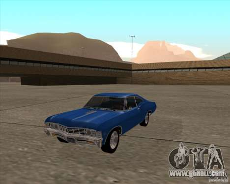 Chevrolet Impala 427 SS 1967 for GTA San Andreas right view