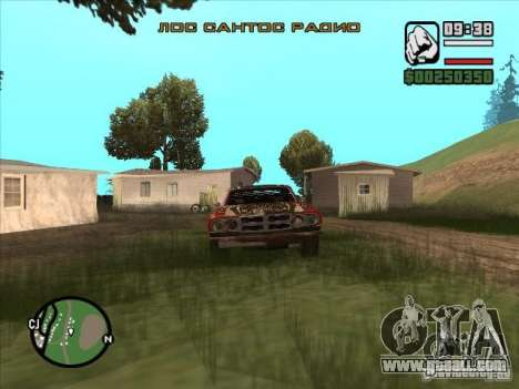 FlatOut bullet for GTA San Andreas back left view