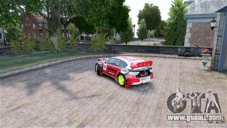 Subaru Impreza WRX STI RALLYCROSS Eibach Springs for GTA 4 left view