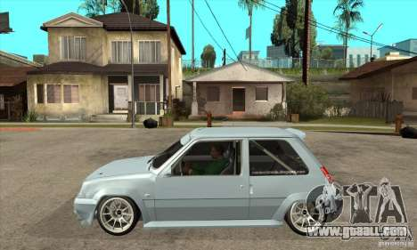Renault 5 Tuned for GTA San Andreas left view
