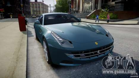 Ferrari FF 2012 for GTA 4 inner view