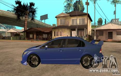 Honda Civic Mugen v1 for GTA San Andreas left view