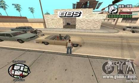 BBS PaynSpray for GTA San Andreas second screenshot