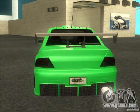 Mitsubishi Lancer Evo 9 Drift style for GTA San Andreas left view
