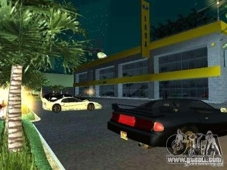 New showroom in San Fierro for GTA San Andreas ninth screenshot