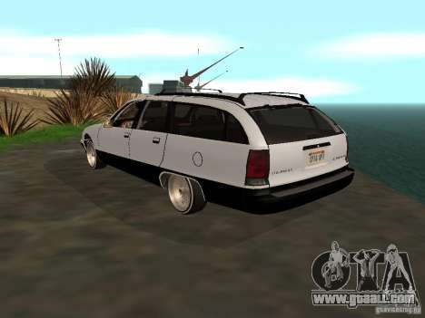 Chevrolet Caprice Wagon 1992 for GTA San Andreas left view
