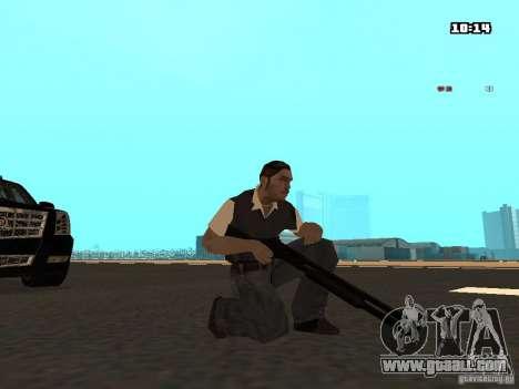 No Chrome Gun for GTA San Andreas