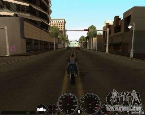 memphis Speedometer v2.0 for GTA San Andreas second screenshot