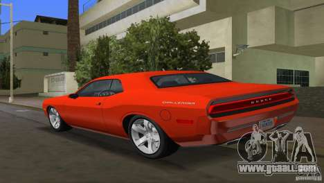 Dodge Challenger for GTA Vice City left view