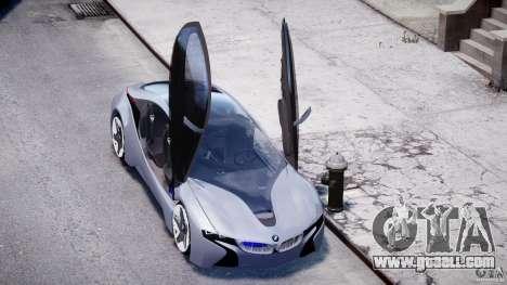 BMW Vision Efficient Dynamics v1.1 for GTA 4 upper view