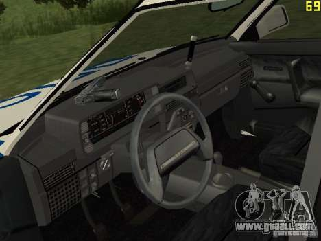 VAZ 21099 DPS for GTA San Andreas right view