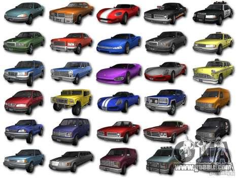GTA3 HD Vehicles Tri-Pack III v.1.1 for GTA San Andreas left view