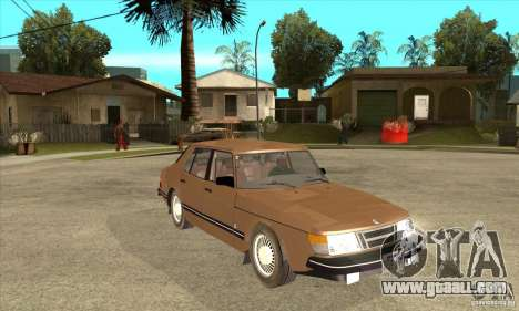 Saab 900i 16 1986 for GTA San Andreas