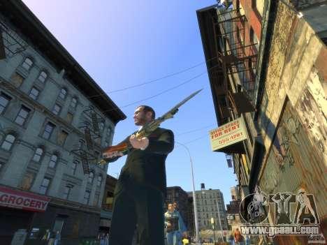 AK-47 for GTA 4 forth screenshot