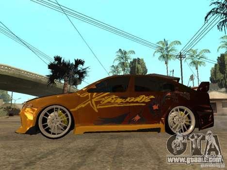 Skoda Octavia II Tuning for GTA San Andreas left view