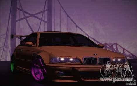 BMW M3 E46 v1.0 for GTA San Andreas