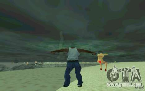 People are able to swim for GTA San Andreas forth screenshot