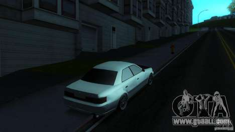 Toyota Mark II 100 for GTA San Andreas left view
