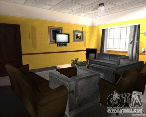 New Interior of CJs House for GTA San Andreas ninth screenshot