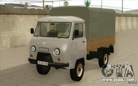 UAZ-3303 for GTA San Andreas left view
