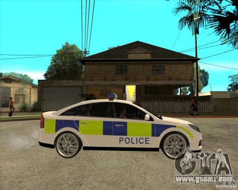 2005 Opel Vectra Police for GTA San Andreas right view