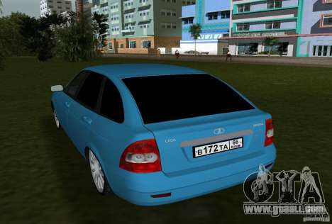 Lada Priora Hatchback v2.0 for GTA Vice City right view