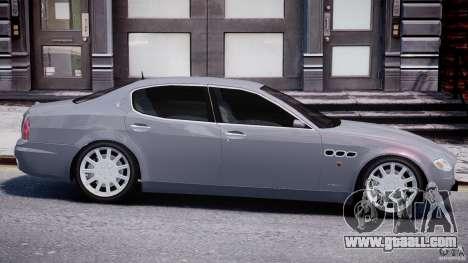 Maserati Quattroporte V for GTA 4 interior