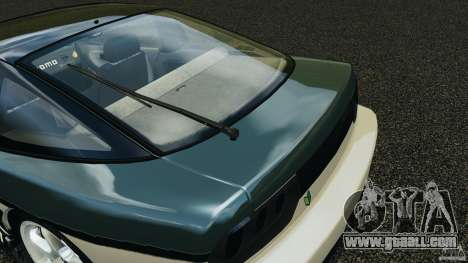 Nissan 240SX Time Attack for GTA 4 bottom view