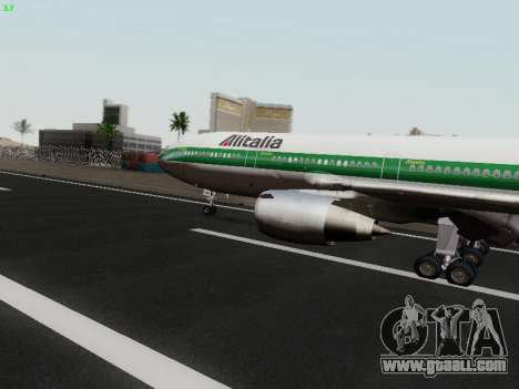 McDonell Douglas DC-10-30 Alitalia for GTA San Andreas left view