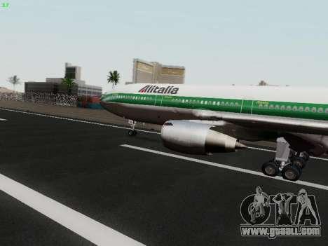 McDonell Douglas DC-10-30 Alitalia for GTA San Andreas left view