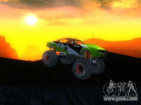 Fire Ball for GTA San Andreas