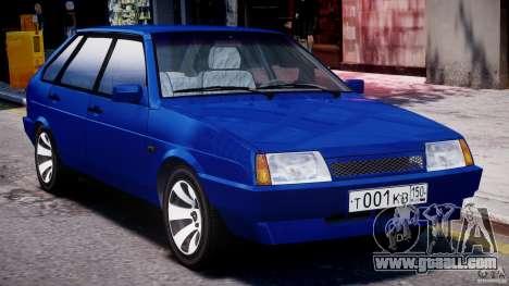 Vaz-21093i for GTA 4 left view