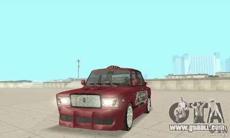 VAZ 2107 Ex Tuning for GTA San Andreas