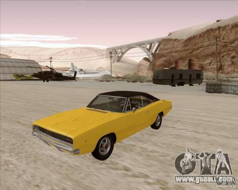 Dodge Charger RT 1968 Bullit clone for GTA San Andreas
