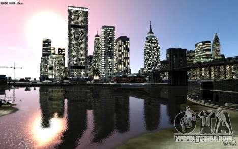 Menu and boot screens of Liberty City in GTA 4 for GTA San Andreas eleventh screenshot