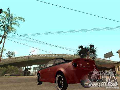 Chevrolet Cobalt ss Tuning for GTA San Andreas back left view